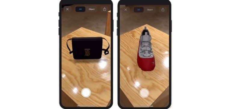 augmented reality (AR) product on Google search