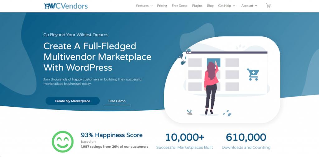 WC Vendors for WordPress