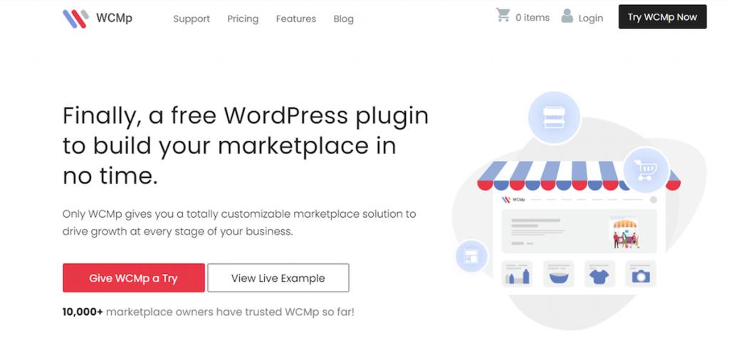 WCMp WooCommerce Marketplace for WordPress
