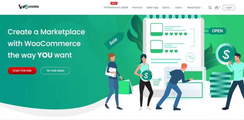 WCFM Marketplace WordPress plugin