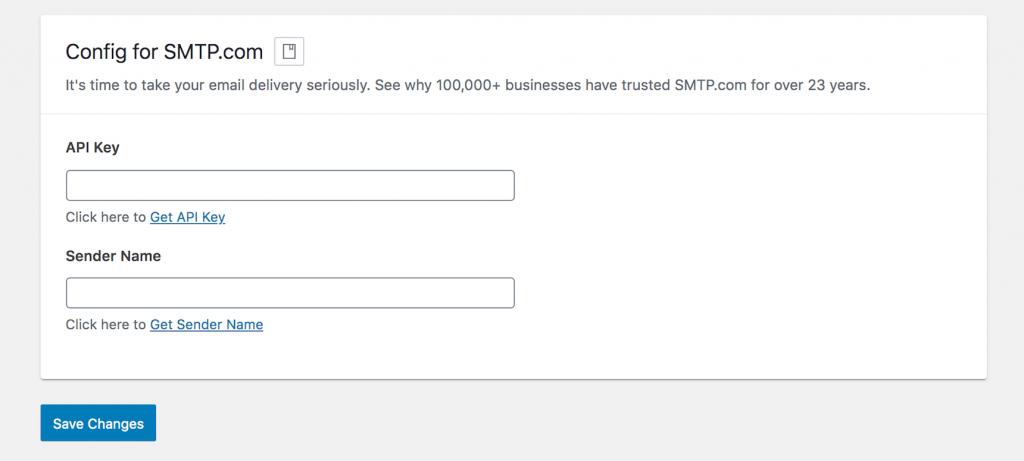 WP Mail SMTP - Config for SMTP.com