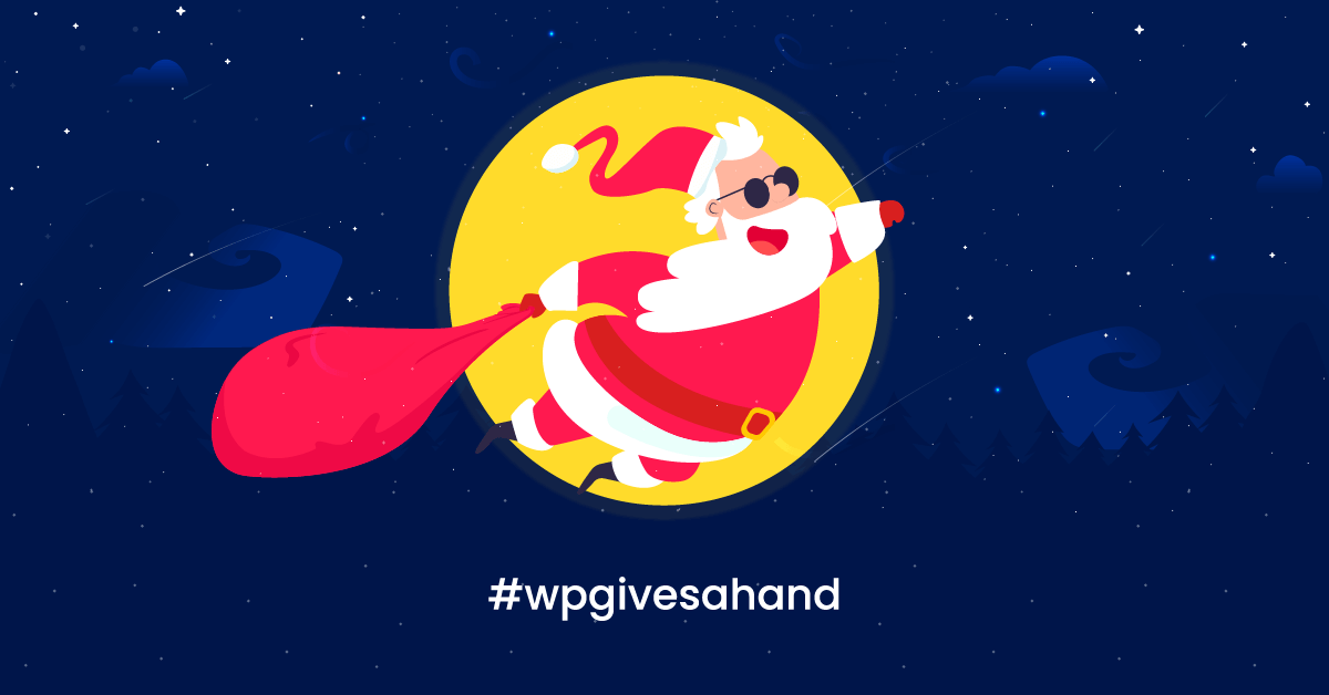 Make Christmas Different Together with #wpgivesahand