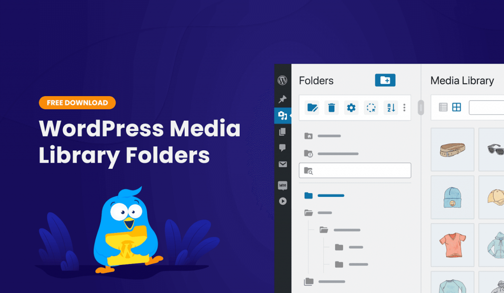Download WordPress media library folders