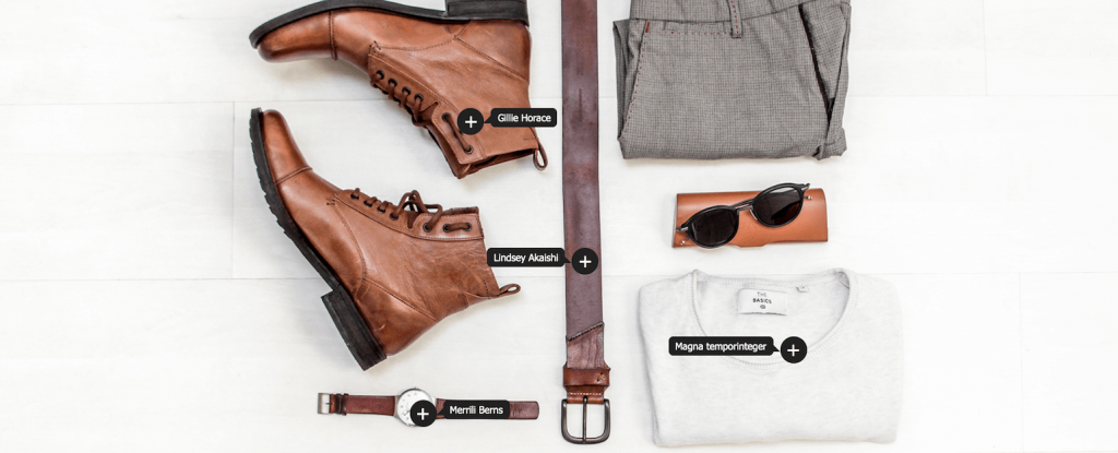 WooCommerce LookBook plugin with image shoppable tags