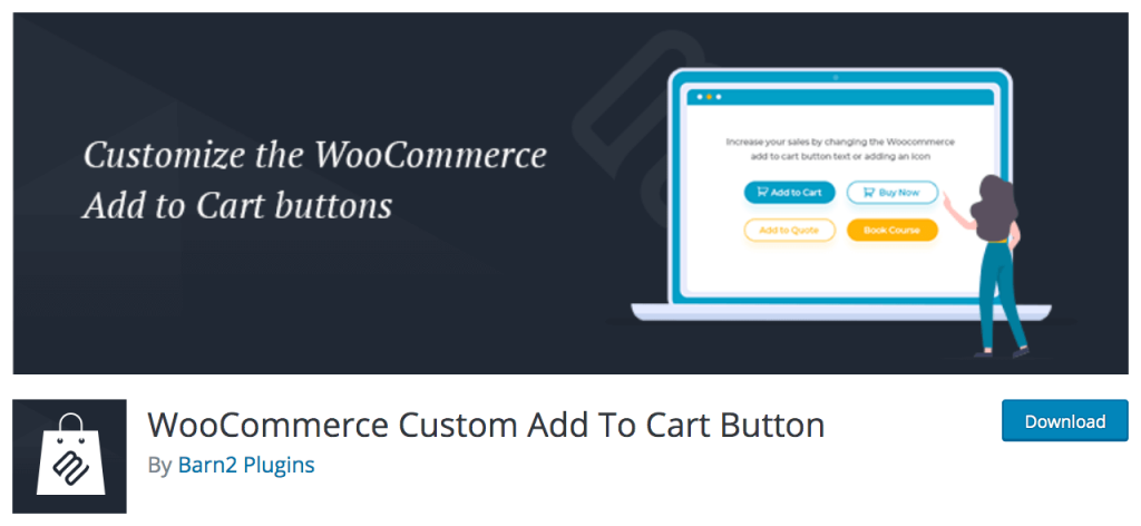 WooCommerce Custom Add to cart Button