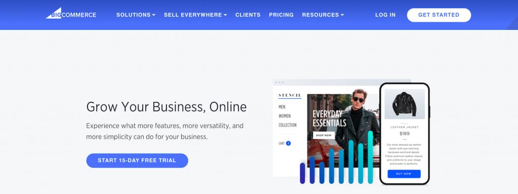 BigCommerce platform for ecommerce
