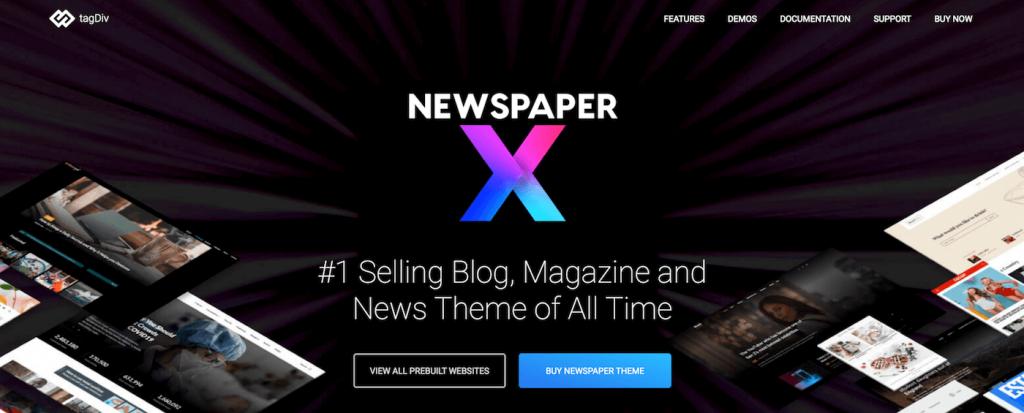 Newspaper theme & WordPress website builder