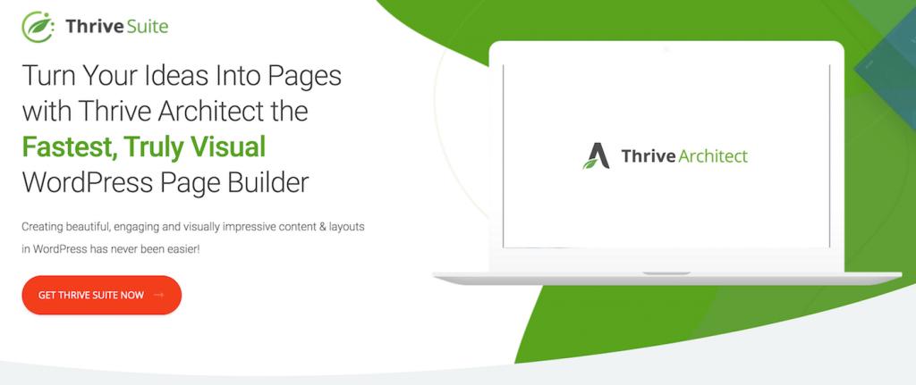 Thrive Suite website builder