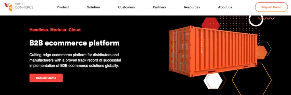 Virto Commerce B2B ecommerce platform