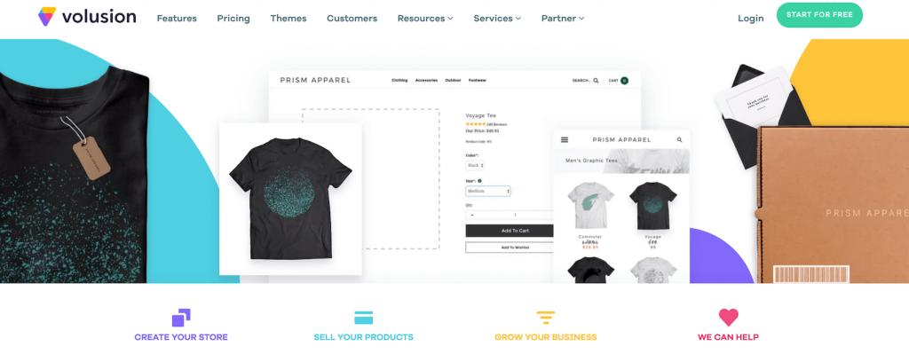 Volusion ecommerce platform