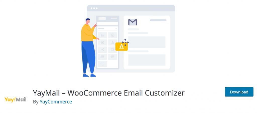 YayMail email customizer free plugin
