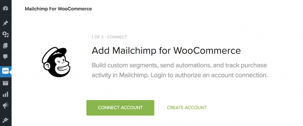 Connect Mailchimp to WooCommerce