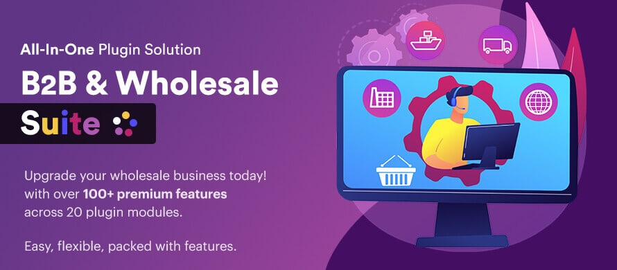 B2B & Wholesale Suite Developed by WebWizards