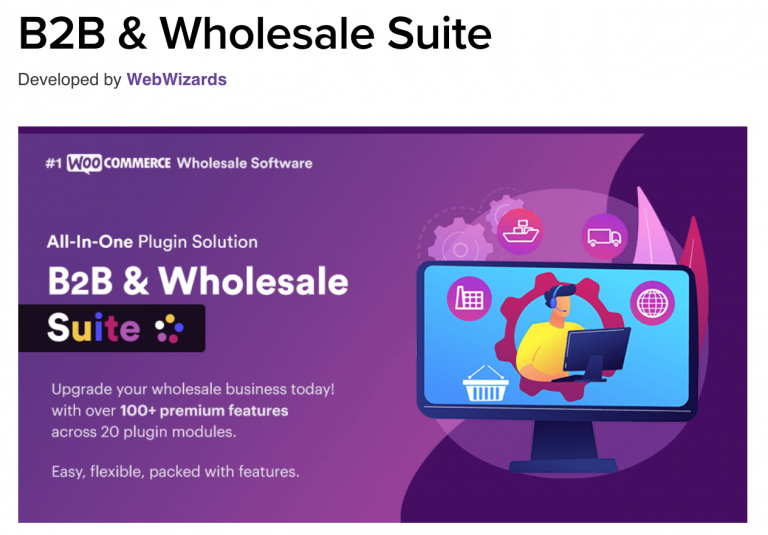 WooCommerce B2B Wholesale Suite by WebWizards
