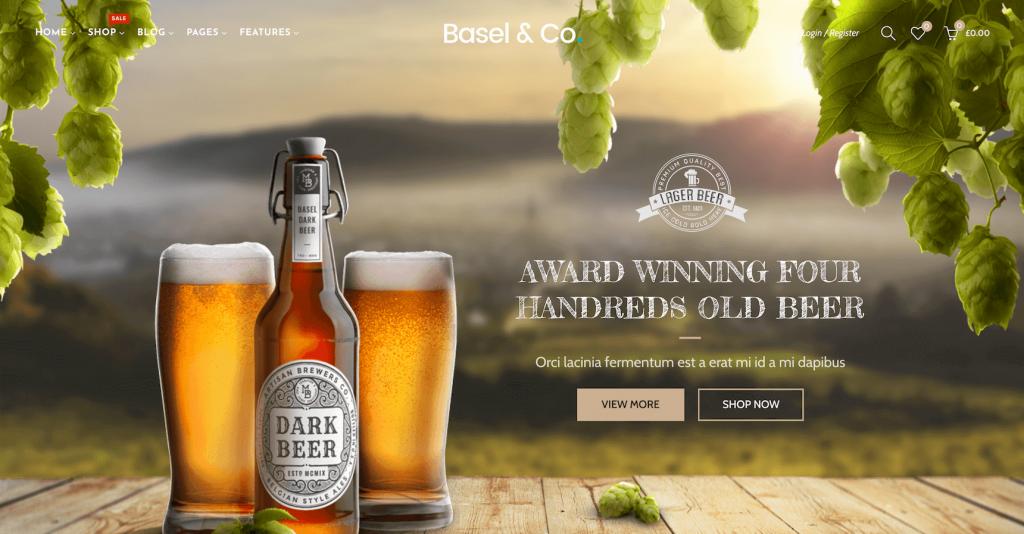 Basel WooCommerce theme demo