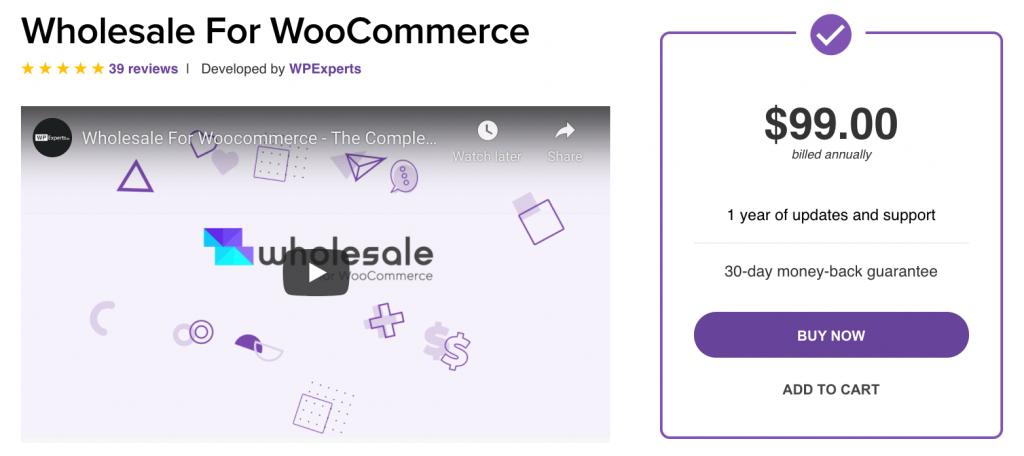 Wholesale for WooCommerce B2B