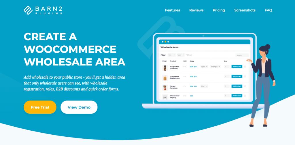 WooCommerce B2B wholesale plugin by Barn2