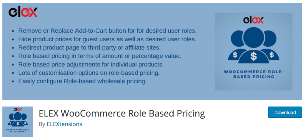 WooCommerce Role Based Pricing plugin