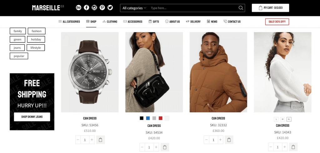 XStore WooCommerce WordPress theme