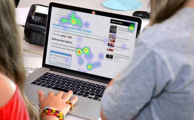 Heatmap for WordPress website